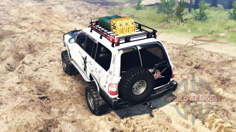 Toyota Land Cruiser 100 2000 [Samuray] для Spin Tires