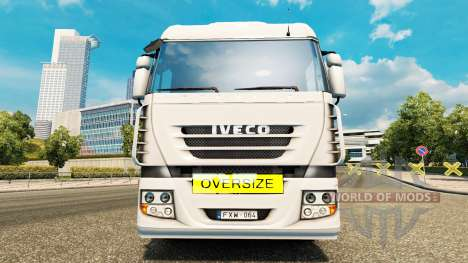 Oversize Load Sign для Euro Truck Simulator 2