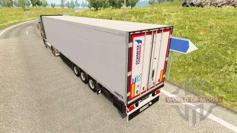 Рефрижераторный полуприцеп Schmitz Cargobull для Euro Truck Simulator 2