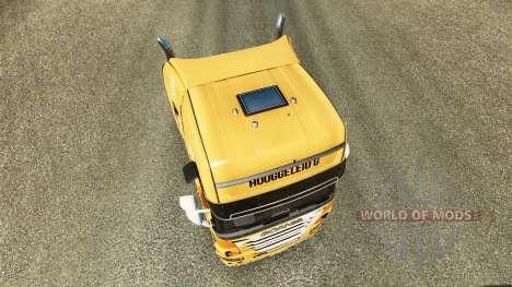 Скин Rijke Tata на тягач Scania для Euro Truck Simulator 2