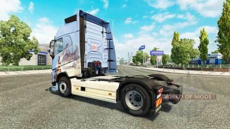 Скин Dreams на тягач Volvo для Euro Truck Simulator 2