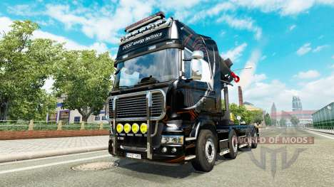 Chassis 8x4 Scania v1.1 для Euro Truck Simulator 2