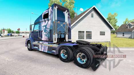 Скин Fantasy на тягач Volvo VNL 670 для American Truck Simulator