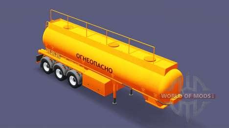 Полуприцеп-цистерна БЦМ-35 для Euro Truck Simulator 2