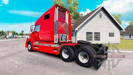 Скин BR Williams на тягач Volvo VNL 670 для American Truck Simulator