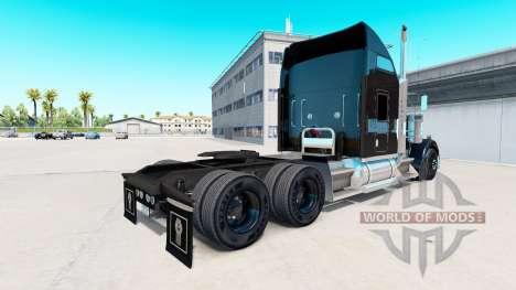 Скин Aarons на тягач Kenworth W900 для American Truck Simulator