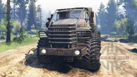 Урал-4320-10 Тунгус v2.0 для Spin Tires