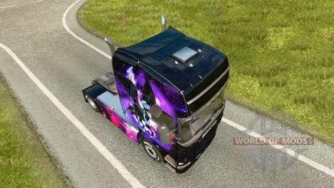 Скин Little Pony на тягач Scania для Euro Truck Simulator 2