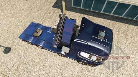 Chassis 8x4 Scania для Euro Truck Simulator 2