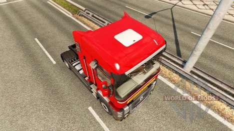 Скин Heavy transport на тягач Renault для Euro Truck Simulator 2