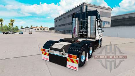 Скин Ace Of Spades на тягач Kenworth K200 для American Truck Simulator