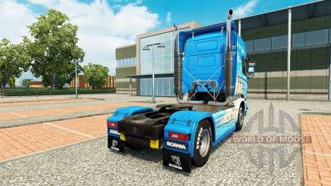 Скин Klanatranas на тягач Scania для Euro Truck Simulator 2