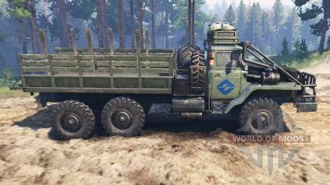 Урал-4320-30 [варвар] для Spin Tires