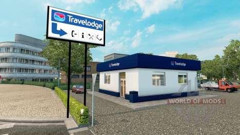Сеть отелей Travelodge и Premier Inn для Euro Truck Simulator 2