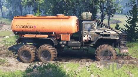 Урал-4320 [гризли] v4.0 для Spin Tires