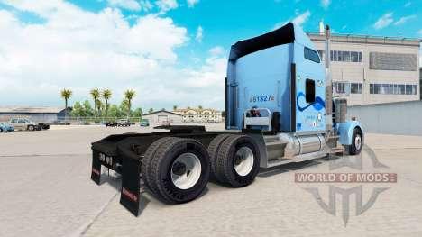 Скин Werner на тягач Kenworth W900 для American Truck Simulator