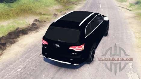 Audi Q7 v4.0 для Spin Tires