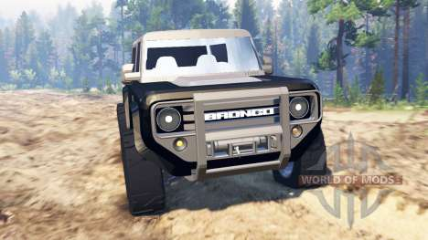 Ford Bronco Concept для Spin Tires