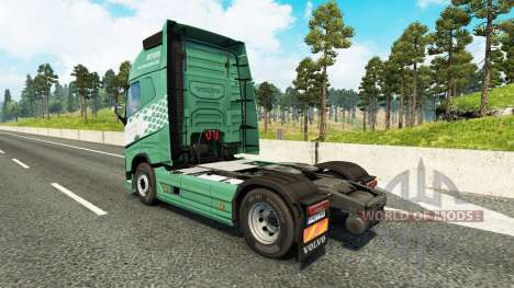 Скин Koln на тягач Volvo для Euro Truck Simulator 2