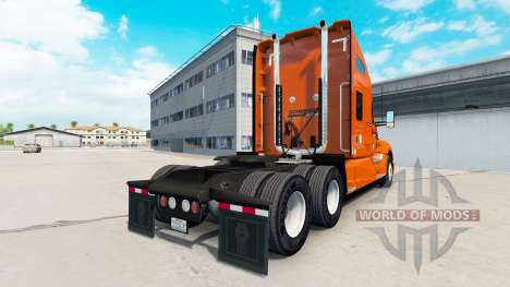 Скин Schneider National на тягач Kenworth для American Truck Simulator