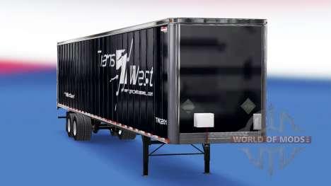Канадские скины на полуприцеп для American Truck Simulator