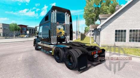 Скин The Beer Store на тягач Volvo VNL 670 для American Truck Simulator