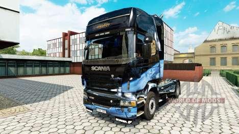 Скин Star Destroyer на тягач Scania для Euro Truck Simulator 2