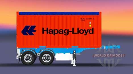 Полуприцеп контейнер Schmitz для Euro Truck Simulator 2