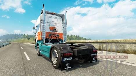 Скин Lommerts на тягач Scania для Euro Truck Simulator 2