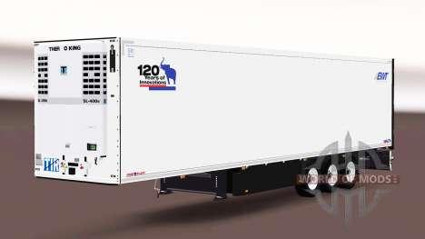 Полуприцеп-рефрижератор Schmitz Cargobull для Euro Truck Simulator 2