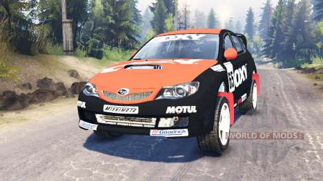 Subaru Impreza WRX для Spin Tires