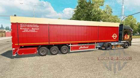 Полуприцеп самосвальный Bodex v2.0 для Euro Truck Simulator 2