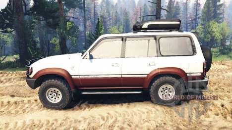 Toyota Land Cruiser 80 VX 1990 v2.0 для Spin Tires