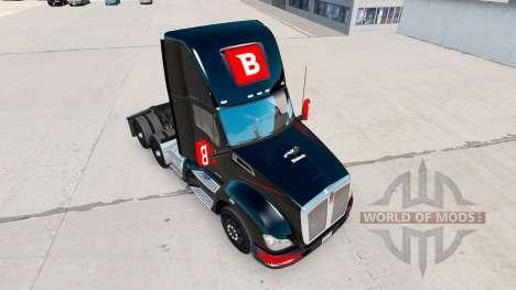 Скин Bitdefender на тягач Kenworth для American Truck Simulator