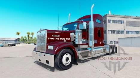 Скин Doodle Bug на тягач Kenworth W900 для American Truck Simulator