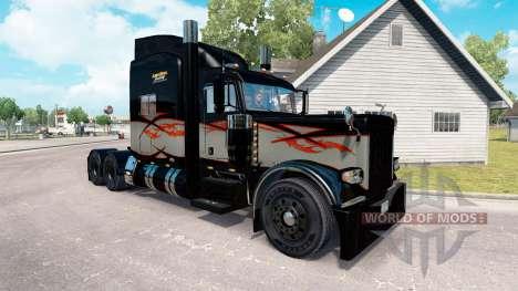 Скин Long Haul на тягач Peterbilt 389 для American Truck Simulator