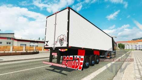 Бразильский полуприцеп для Euro Truck Simulator 2