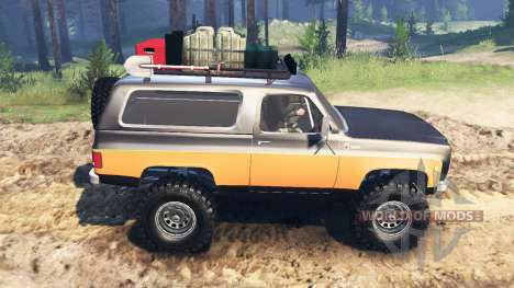 Chevrolet K5 Blazer 1975 [farmer] для Spin Tires