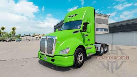 Скин SGT на тягач Kenworth для American Truck Simulator