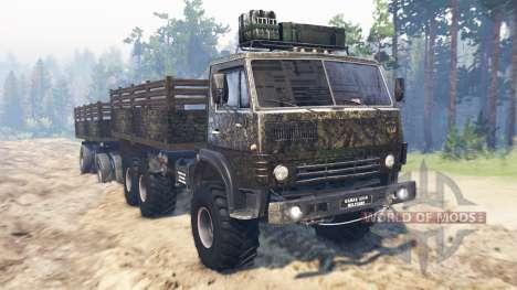 КамАЗ-4310 [military] v2.0 для Spin Tires
