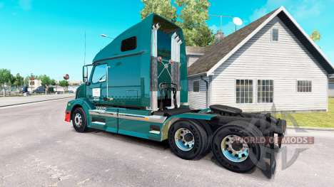 Скин Wilson Trucking на тягач Volvo VNL 670 для American Truck Simulator