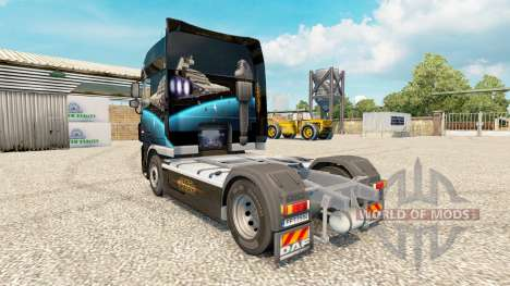 Скин Star Destroyer на тягач DAF для Euro Truck Simulator 2