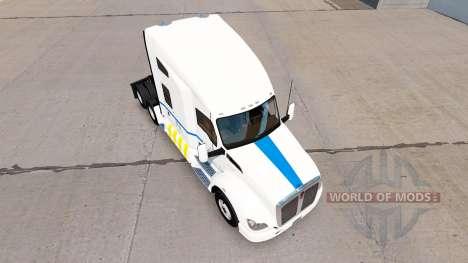 Скин Transport Quebec на тягач Kenworth для American Truck Simulator