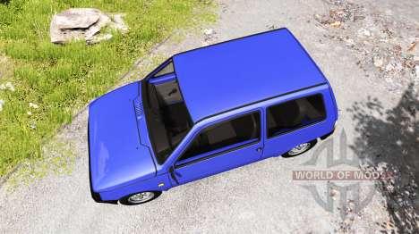 ВАЗ-1111 [ремейк] для BeamNG Drive
