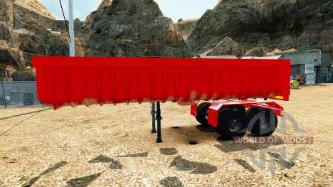 Полуприцеп-самосвал v2.0 для Euro Truck Simulator 2
