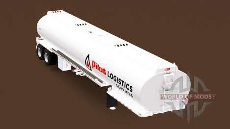 Полуприцеп-цистерна Heil для American Truck Simulator