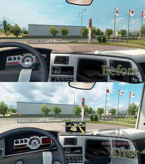 GPS-навигатор для Renault для Euro Truck Simulator 2