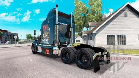 Скин AC-DC на тягач Peterbilt 386 для American Truck Simulator