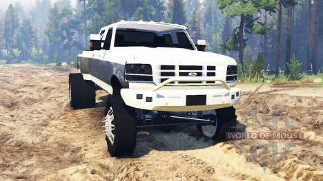 Ford F-350 OBS Dually 1994 для Spin Tires