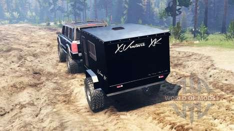 Jeep Commander (XK) для Spin Tires